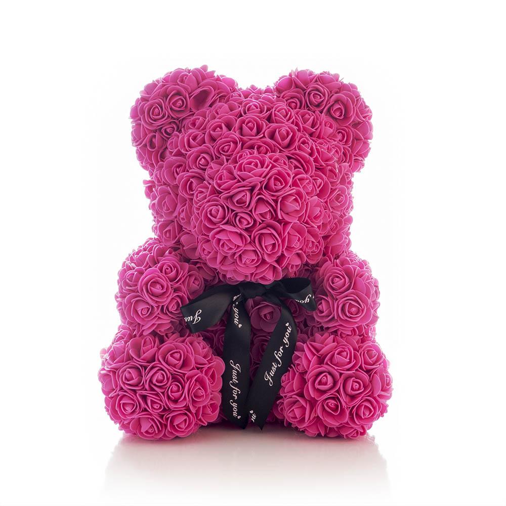 Rose Bear in Dark Pink - Giftalot Africa